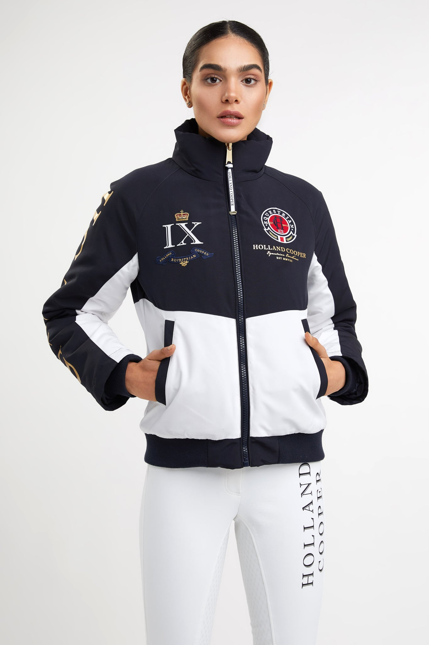 Team HC Jacket (Chalk White)