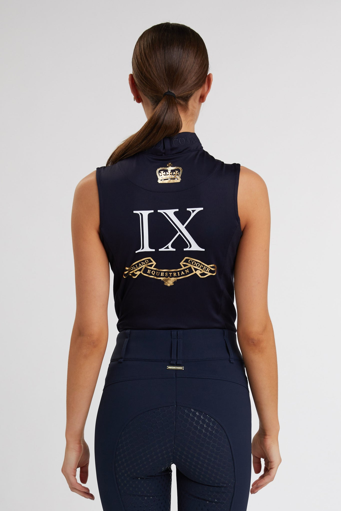 Sleeveless Base Layer (Ink Navy)