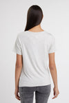 Relax Fit Crew Neck Tee (Ice Marl)