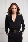 Shirt Bodysuit (Black)