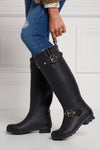 Sherpa Lined Regency Wellington (Matte Black)