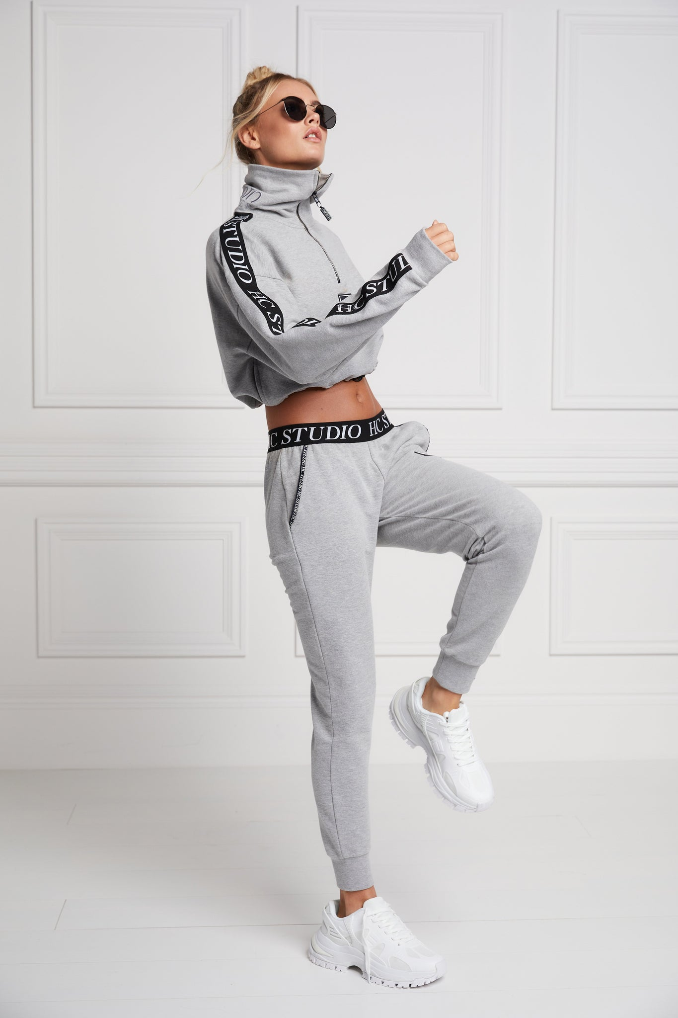 Studio Taped Jogger (Grey Marl)