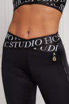 Studio Cross Over Legging (Black)