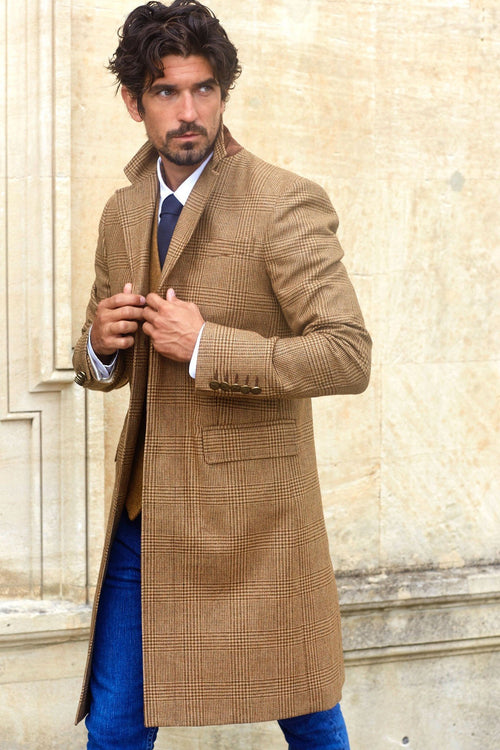 Finsbury Over Coat (TAWNY)