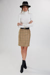 Chelsea Pencil Skirt (Airforce)