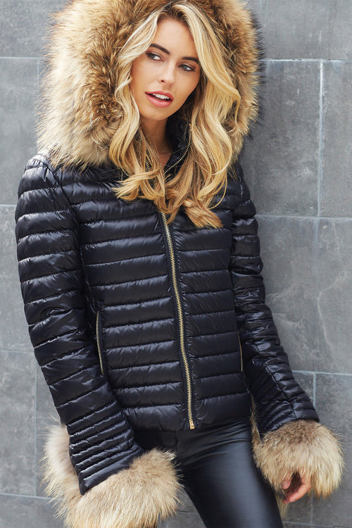 The Zermatt Padded Coat (Black)