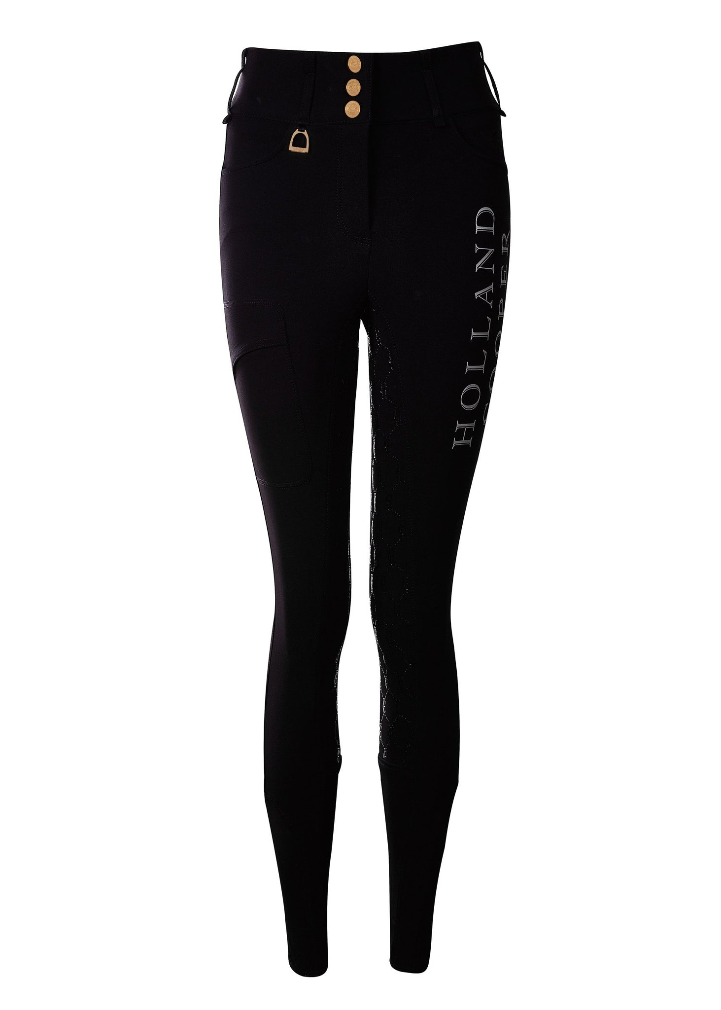 Ascot Breeches (Black Reflective)