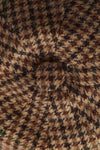 Baker Boy Cap (Hailes Green Tweed)