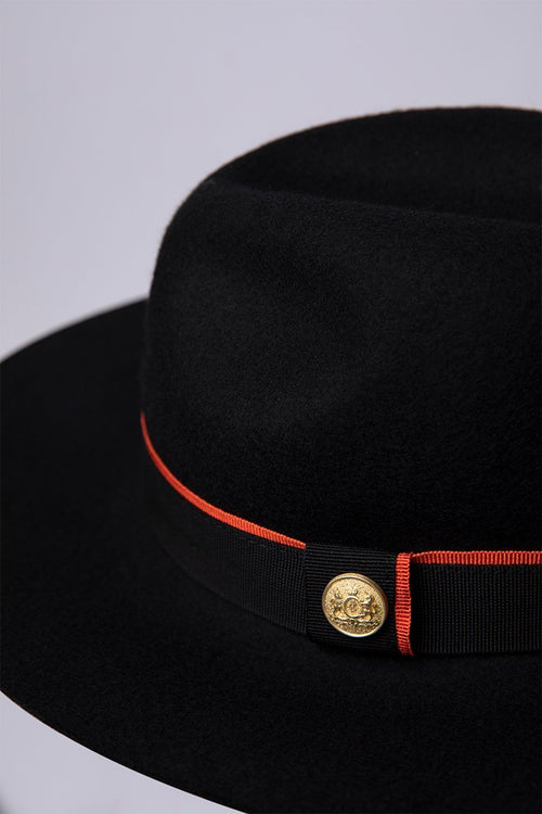 Trilby Hat (Black)