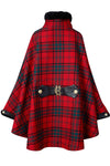 Chiltern Cape (Red Tartan)