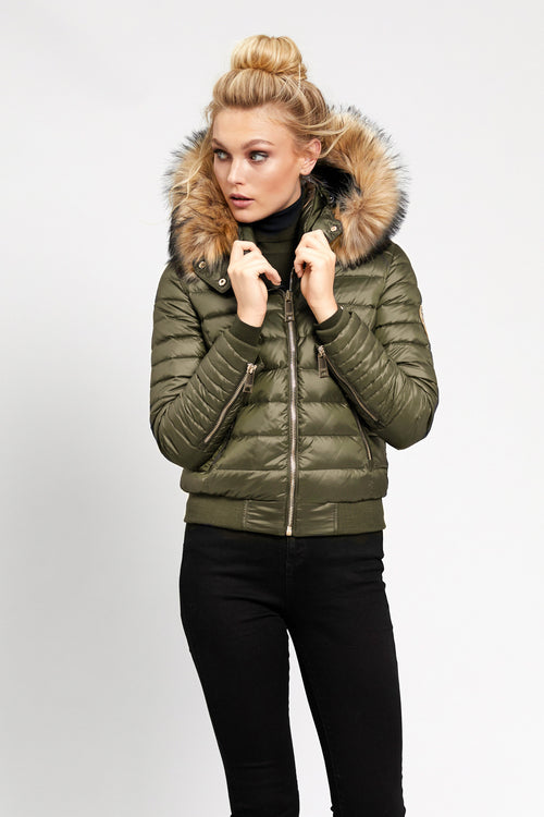 Vancouver Down Bomber (Olive)
