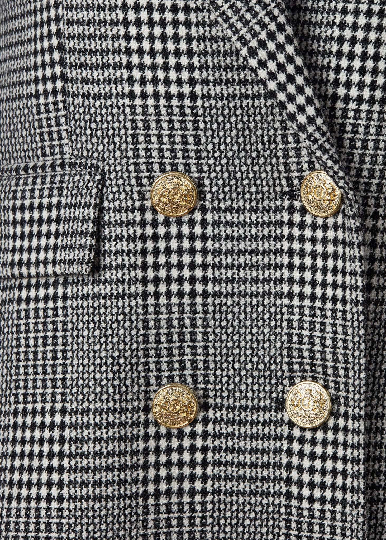 Double Breasted Blazer (Prince of Wales Mono)