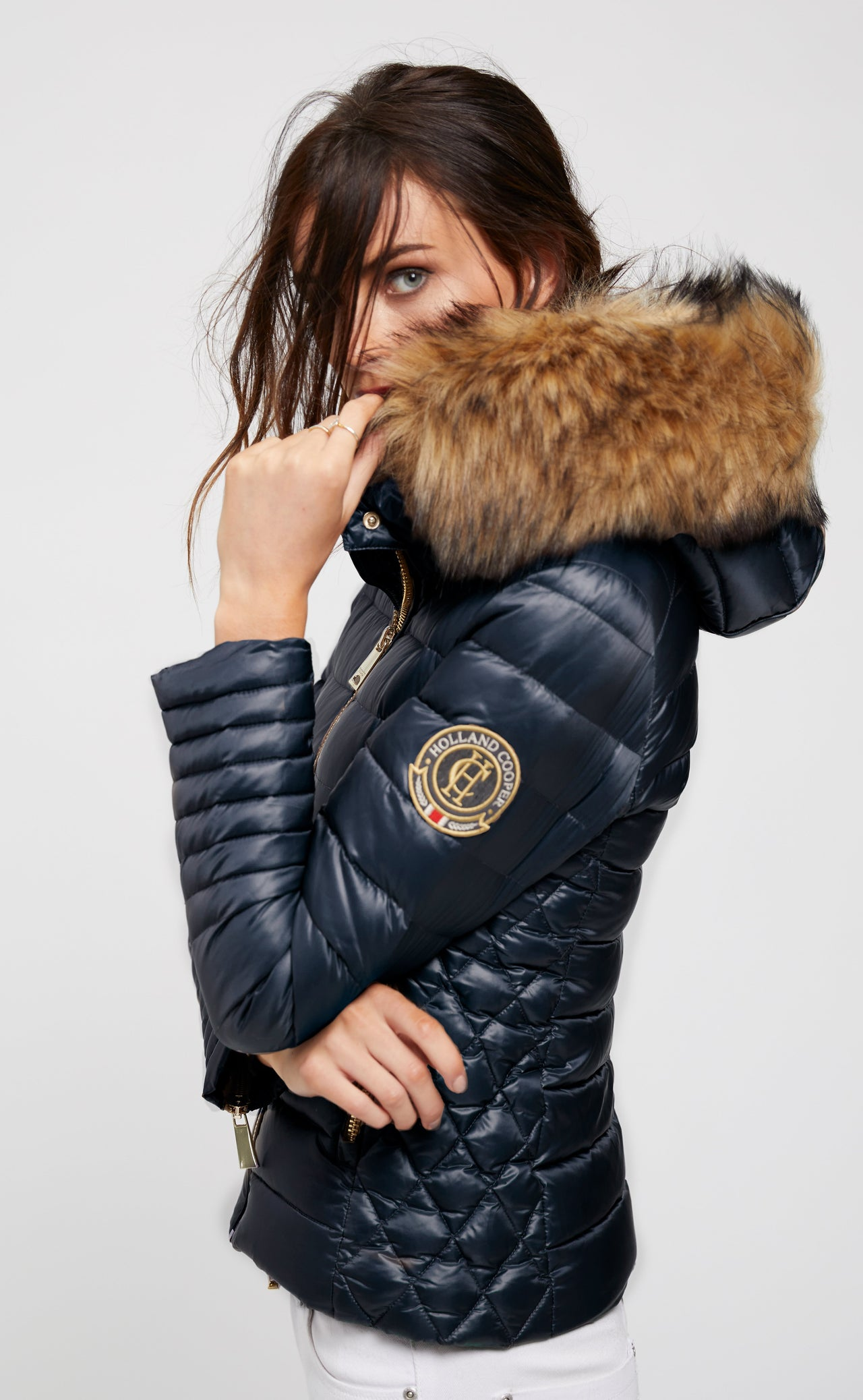 Zermatt Down Puffer Coat (Ink Navy)