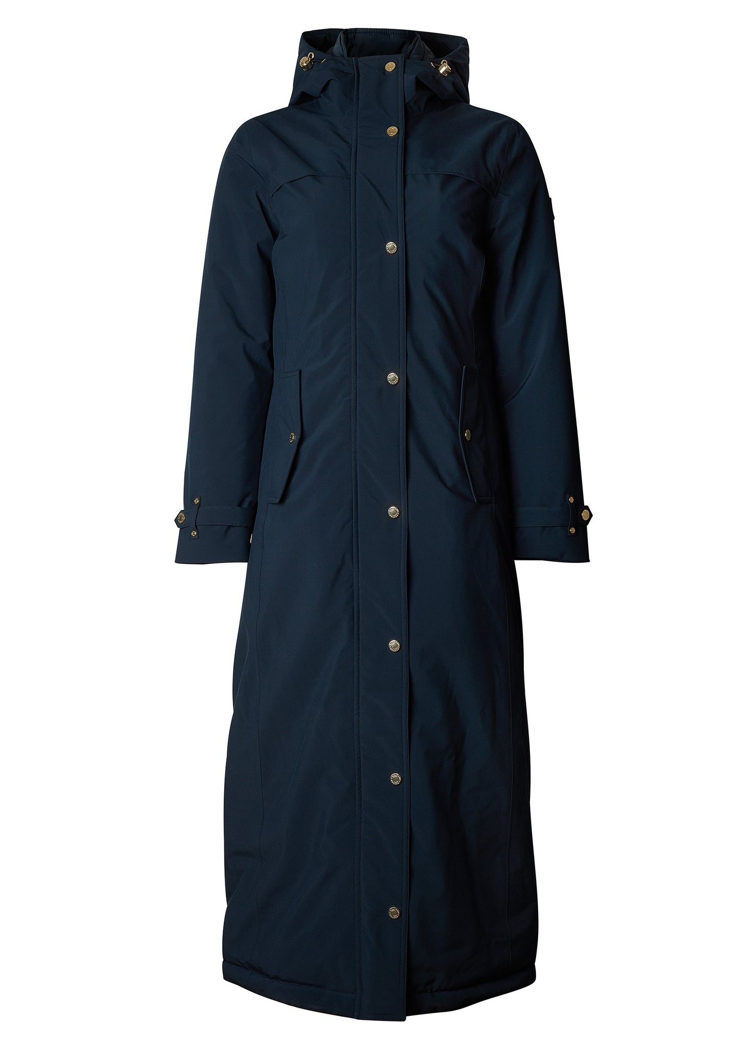 Longline Training Coat (Ink Navy)