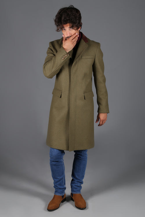 Finsbury Over Coat (Army Green)