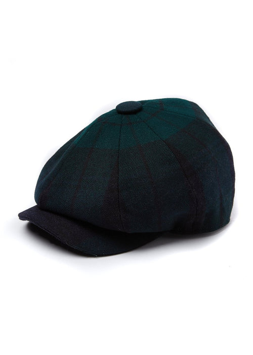 Baker Boy Tweed Cap (Blackwatch)