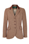 Tweed Riding Jacket (Tawny Brown)