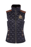 Diamond Quilt Classic Gilet (Ink Navy)