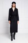 Wrap Coat (Soft Black)
