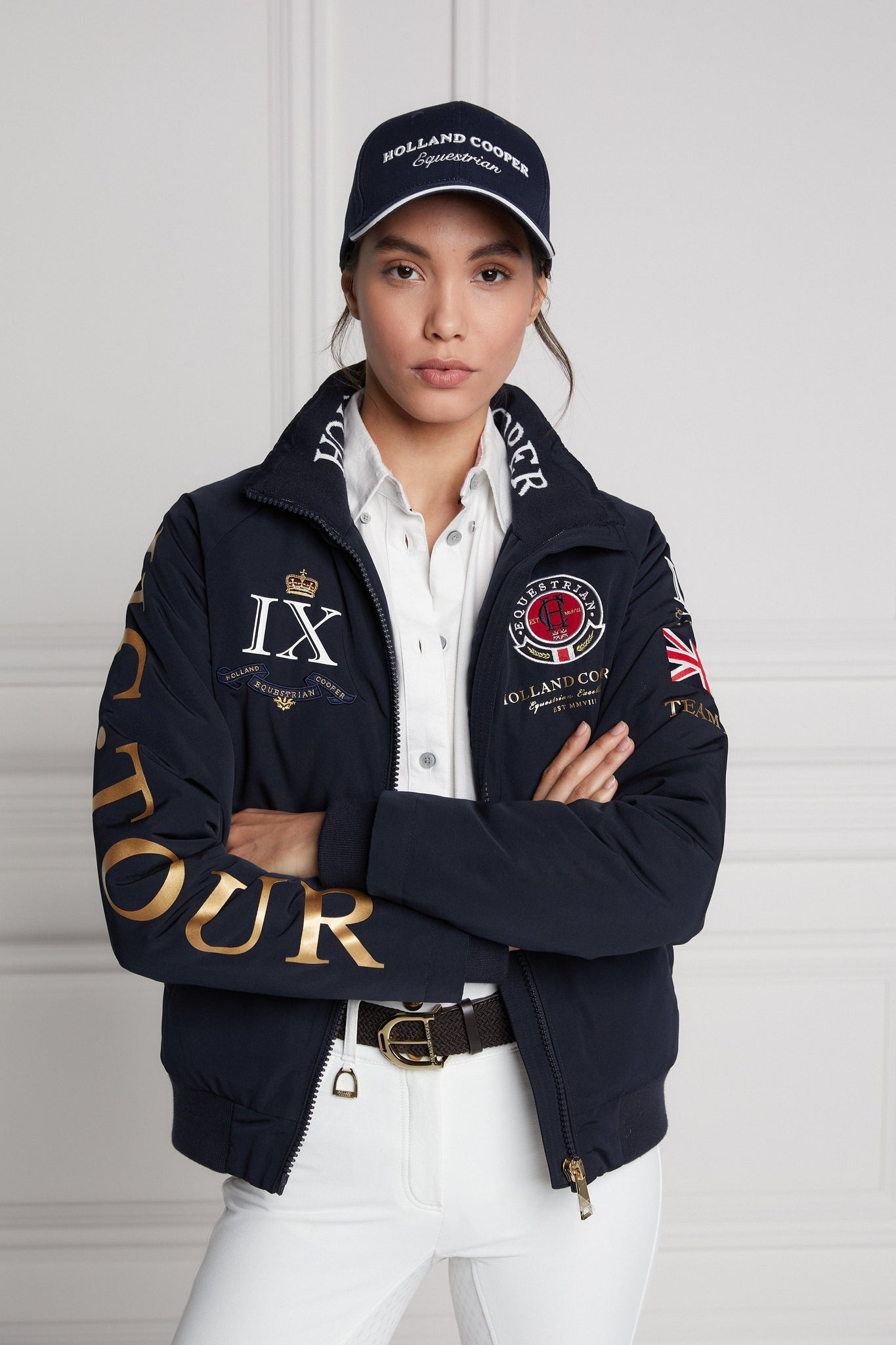 Team HC Jacket (Navy)