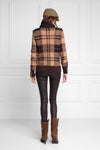Heritage Knit Jumper (Camel Check)