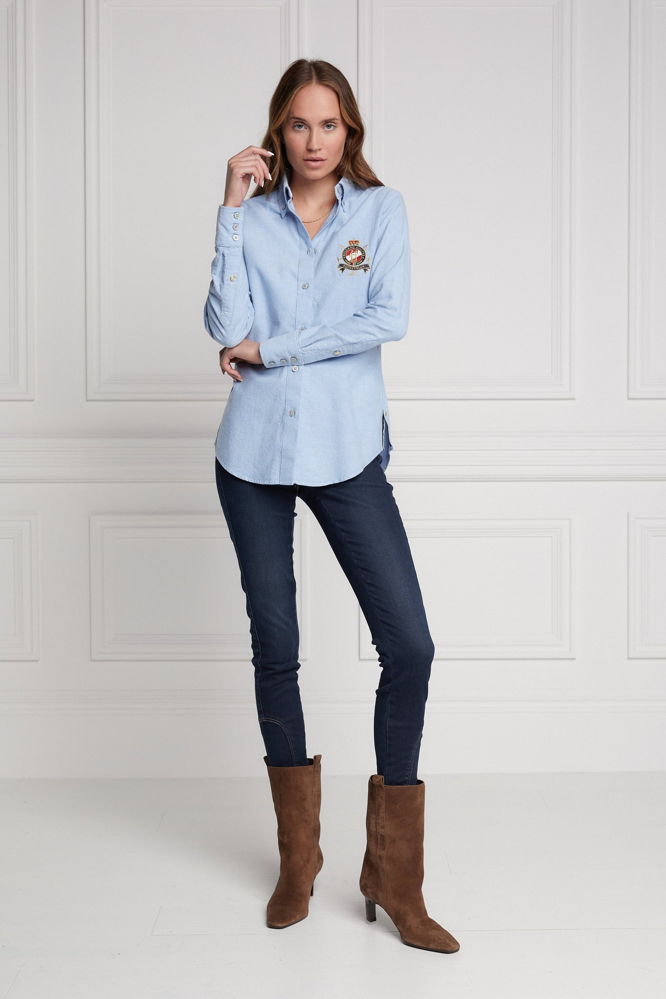 Classic Oxford Shirt (Chalk Blue)