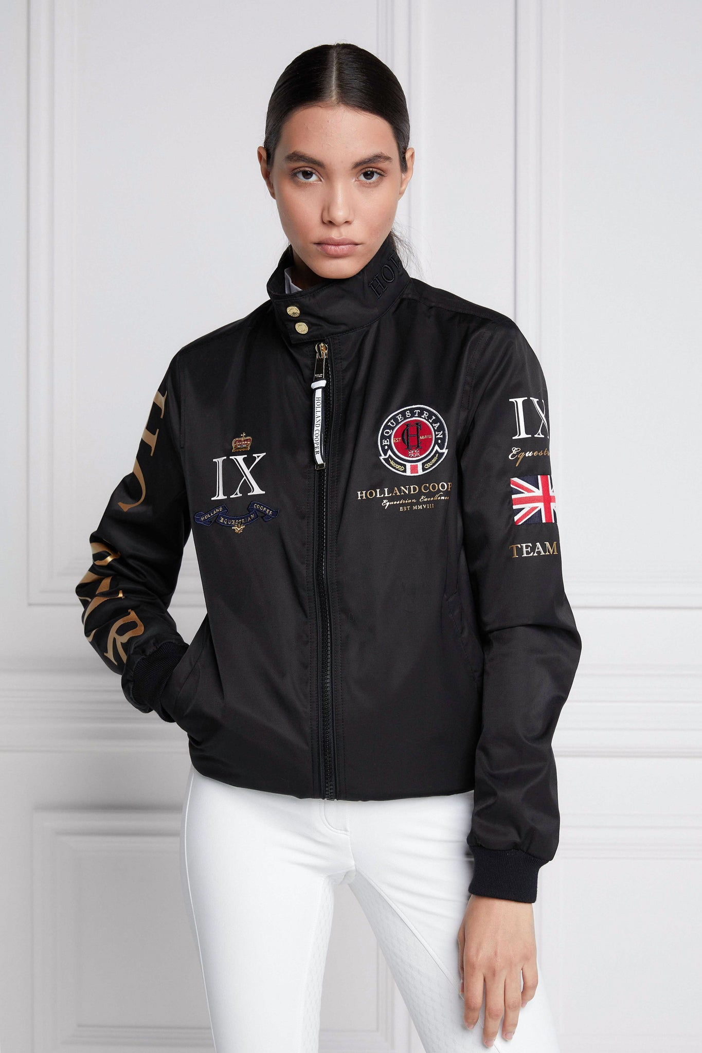 Harrington Team Jacket (Black)
