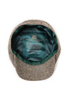 Carrie Cap (Wide Tooth Brown Herringbone)