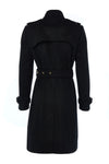 Marlborough Trench Coat (Soft Black)