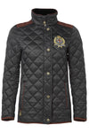 Diamond Quilt Jacket (Black)