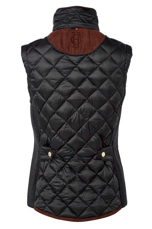 Equi Diamond Quilt Gilet (Black)