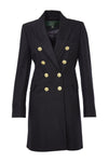 The Knightsbridge Coat Dress (Navy Loxley)