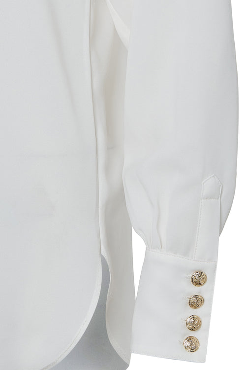 Zip Shirt (White)