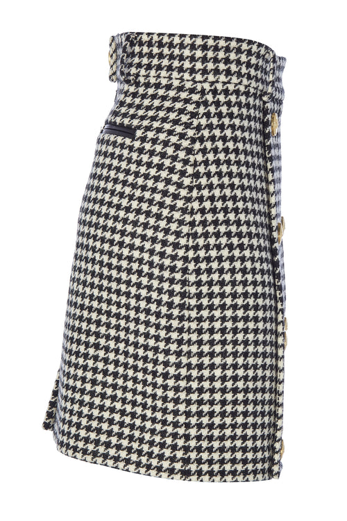 Knightsbridge Skirt (Houndstooth)