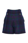 Luxe Tailored Short (Heather Tartan)