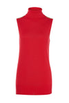 Luxury Sleeveless Roll Neck (Neroli)