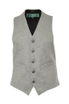 St James Waistcoat (Light Vintage Grey)