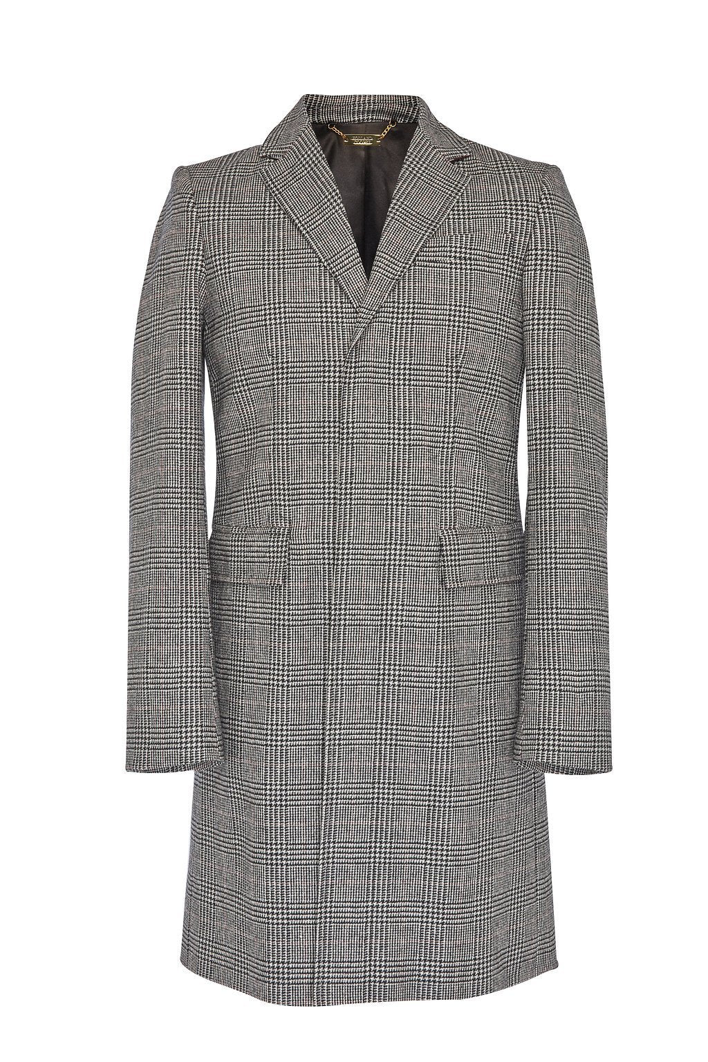 Finsbury Over Coat (Prince of Wales Black)