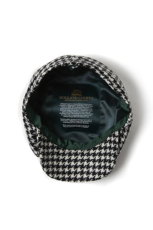 Carrie Cap (Houndstooth)