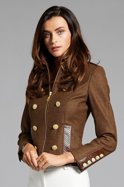 Windsor Jacket (Tobacco/Brown Snake)
