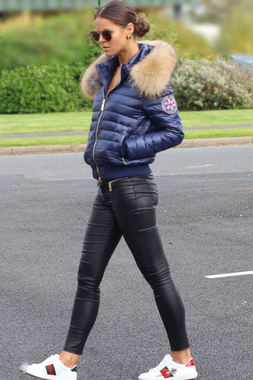 The Verbier Padded Coat (Marine Blue)