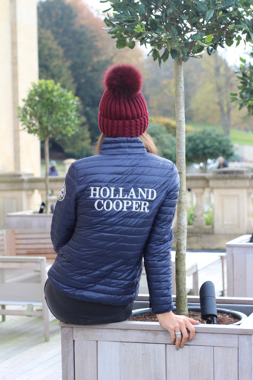 Les Arcs Padded Jacket (Navy)