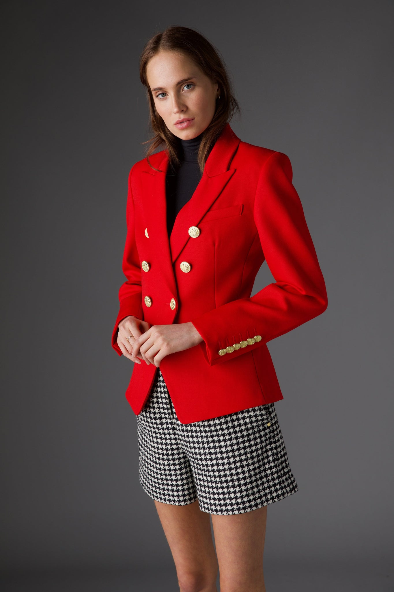 Knightsbridge Blazer (Red Barathea)