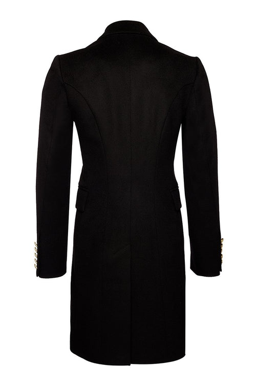 The Knightsbridge Coat Dress (Black)