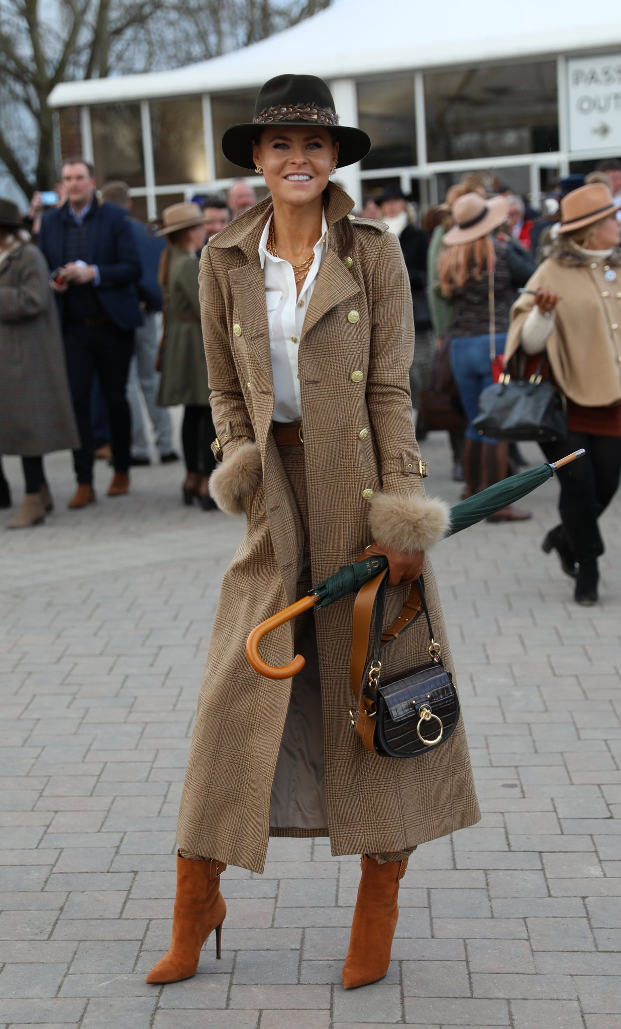 Full Length Marlborough Trench Coat (Tawny)