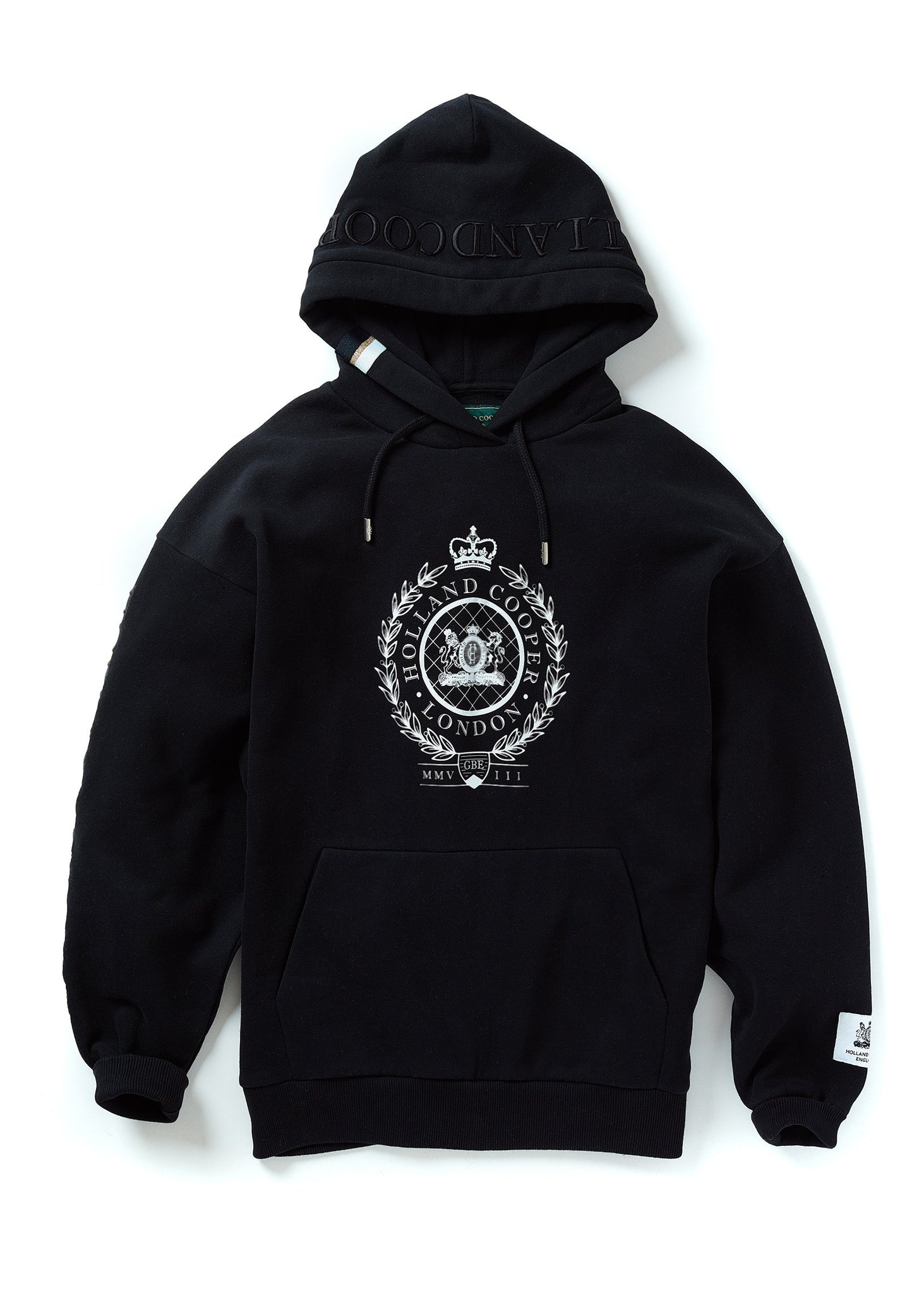 London Crest One Size Hoodie (Black)