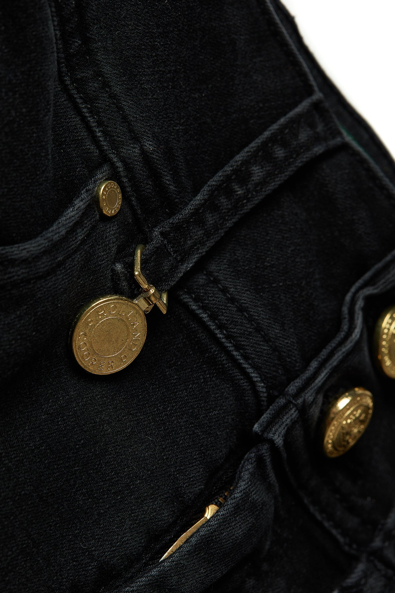 Jodhpur Jean (Washed Black)