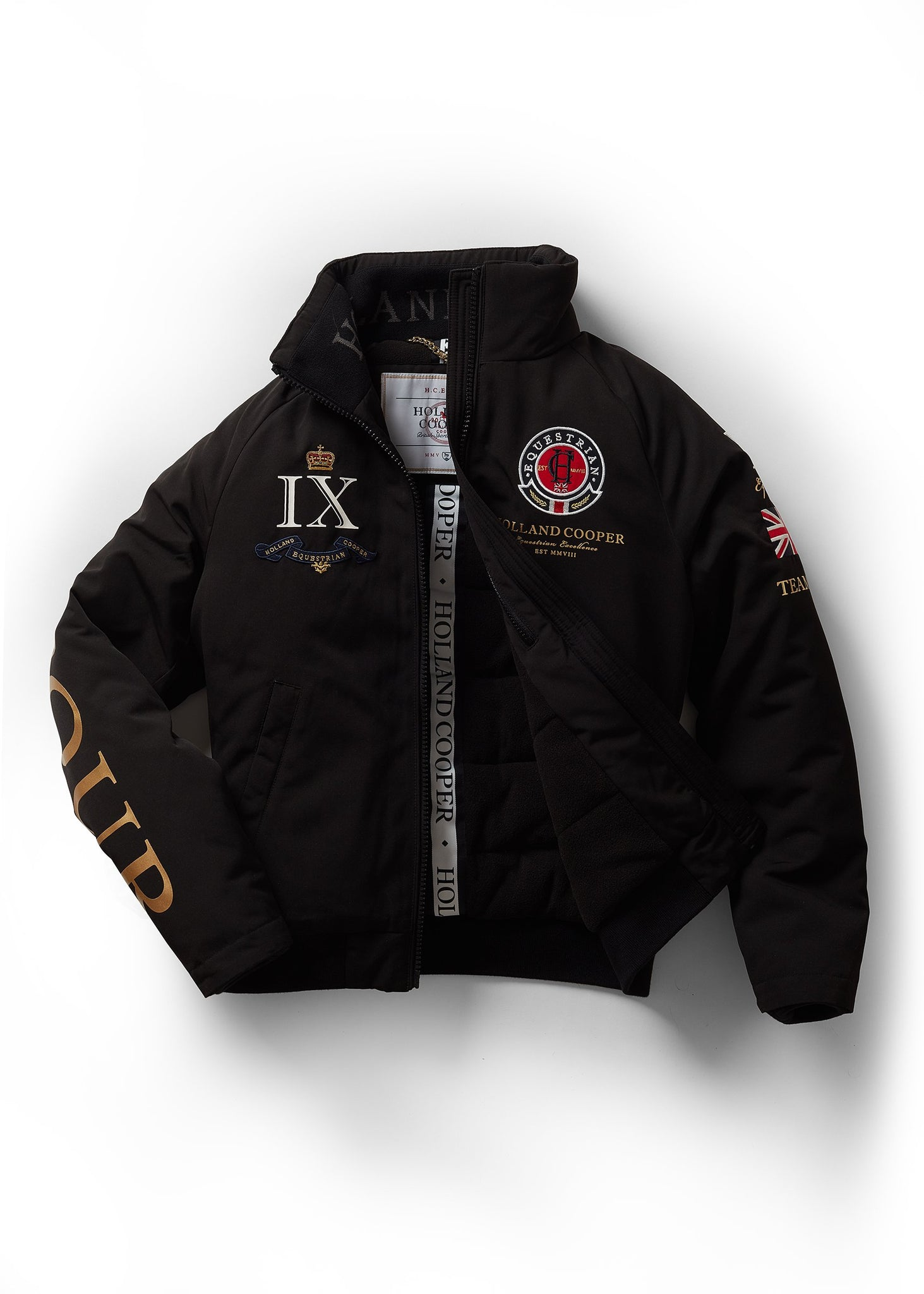 Team HC Jacket (Black)