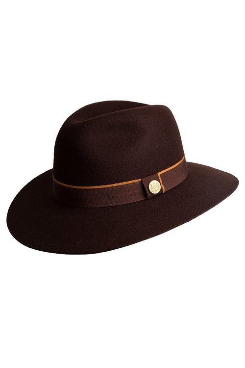 Trilby Hat (Chocolate)