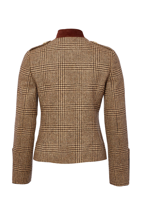Windsor Jacket (Brown Prince of Wales Check)